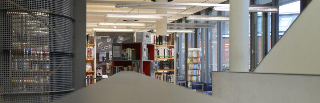 1. Obergeschoss in der Stadtbücherei Bamberg