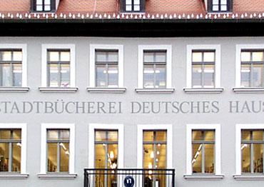 Hauptstelle im Deutschen Haus in der Oberen Königstraße 4a